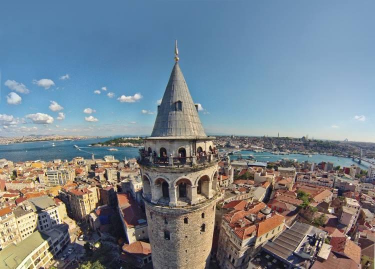 سفر به گالاتا و کاراکوی استانبول