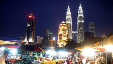 بازارهای خیابانی کوالالامپور