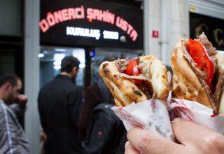 غذاهای سنتی بازار استانبول