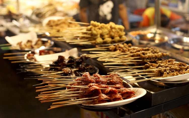 غذاهای خیابانی در مالزی