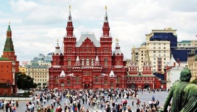 سفر به مسکو در چهار روز