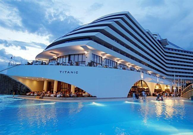 هتل های لوکس آنتالیا