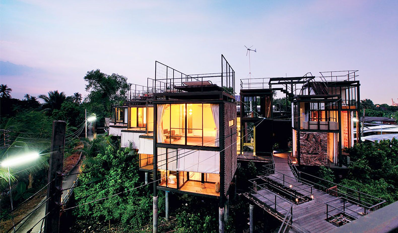 هتل های درختی بانکوک