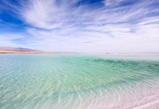 چاکا یکی از زیباترین دریاچههای نمک دنیا
