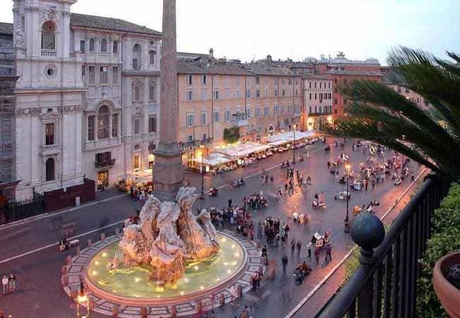 معرفی مکان های دیدنی رم - بخش دوم