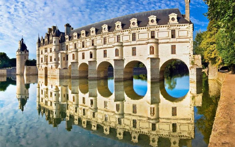 7 قلعه معروف فرانسه