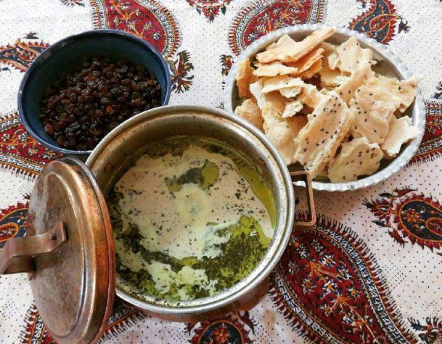غذاهای محلی زنجان