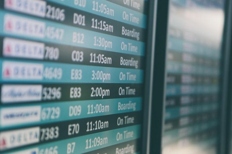 تاخیر پرواز