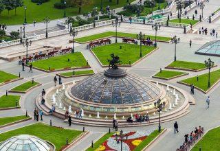 جاذبه های گردشگری میدان مانژ ، مسکو
