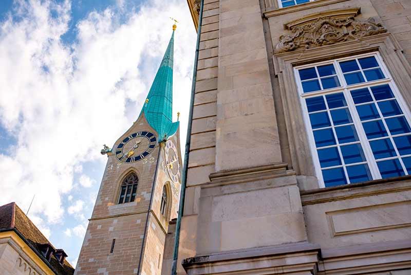آشنایی با کلیسای فرومونستر زوریخ