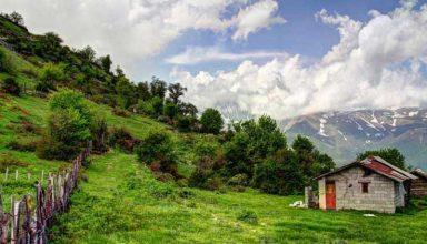 دیدنی های کلاردشت،تصویری از یک رویا در مازندران