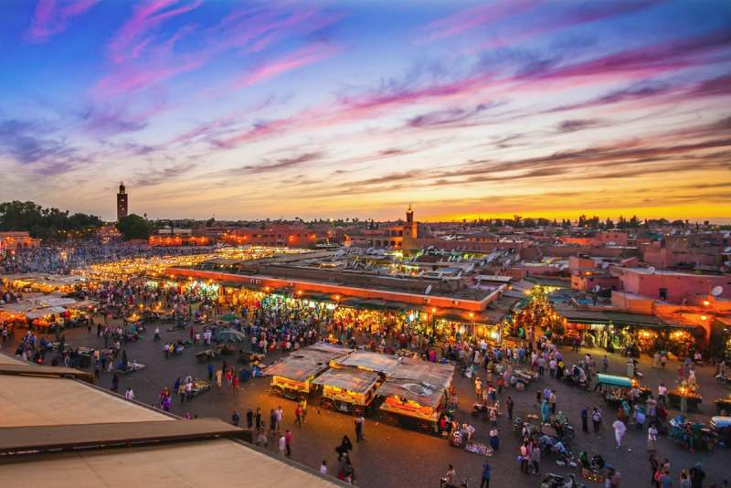 راهنمای سفر به مراکش