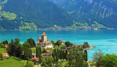 swiss alps sw 384x220 - زیباترین شهرهای توریستی سوئیس | 14 شهر کوچک خوش منظره