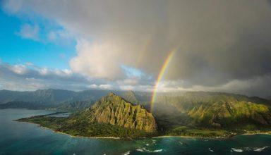 بهشت در جزایر اوآهو هاوائی