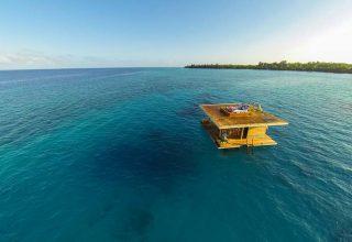 هتل های شناور جهان