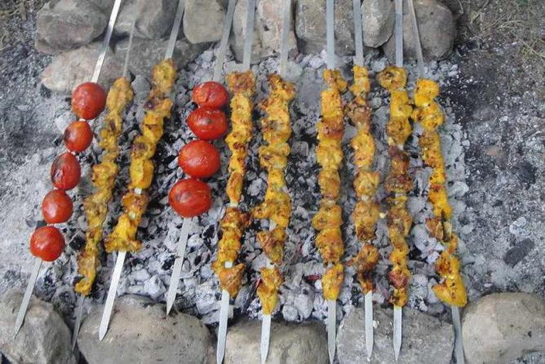 The Most Delicious Chelo Kebab In Tehran
