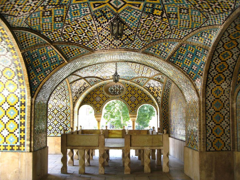 golestan palace tehran fulvio spadaflickr - Places You Just Can't Skip if You're Visiting Iran