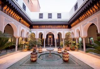 mindythelion la mamounia 320x220 - بهترین حمام ها در مراکش ، تجربه بی نظیر آبگرم | Morocco