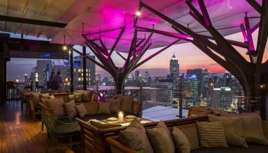 above eleven 1024x682 384x220 - بهترین بارهای بانکوک ، با فضای باز فوق العاده | Bangkok