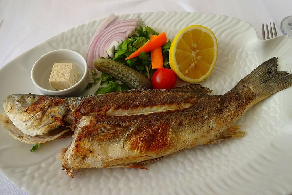 غذای دریایی ازمیر