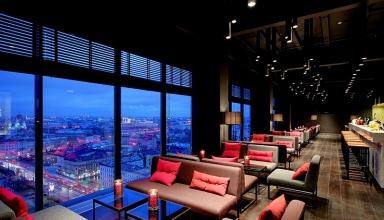 sky bar 384x220 - بهترین رستوران های سن پترزبورگ ، با منظره ای پانوراما | St Petersburg