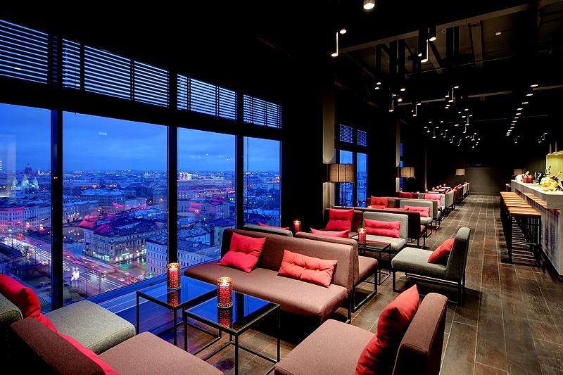sky bar - بهترین رستوران های سن پترزبورگ ، با منظره ای پانوراما | St Petersburg