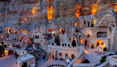 کاپادوکیا شهر صخره ای ترکیه