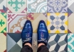 barcelonafloors carrerdecorserga generatorhostel 37 650x650 104x74 - به پایین نگاه کنید ! به زیبایی کفپوش های خیره کننده بارسلونا | Barcelona