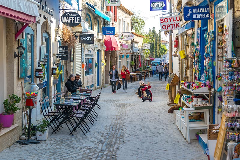 آلاچاتی شهر زیبای ترکیه