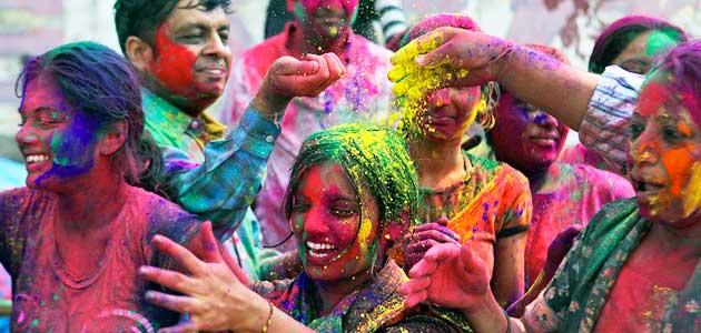 هولی،جشن رنگ ها در هندوستان