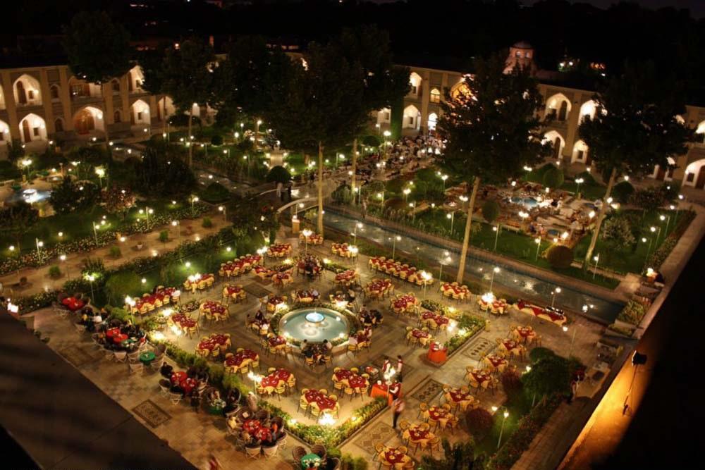 هتل شاه عباسی اصفهان