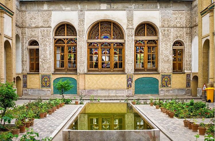 باغ عمارت مسعودیه