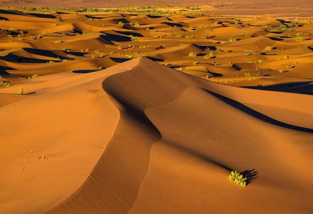 کویر کاراکال ، زیباترین کویر ایران