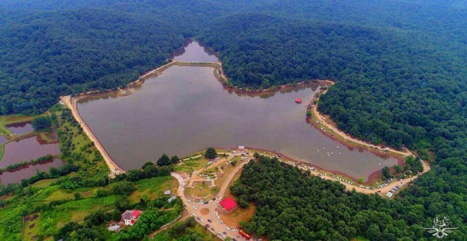 دریاچه سقالسکار گیلان