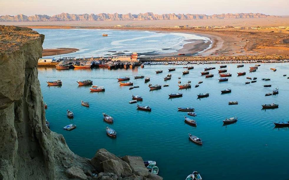 بندر بریس چابهار ، بندری زیبا در سیستان و بلوچستان