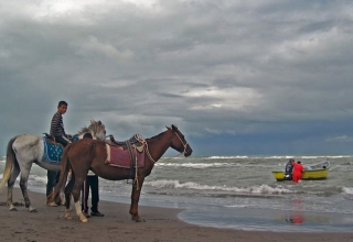 ساحل چمخانه گیلان
