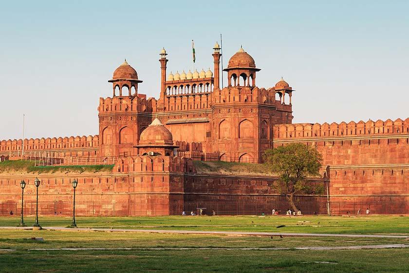 قلعه سرخ دهلی هند