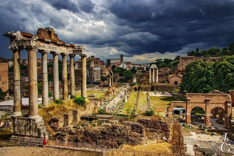 مکان های دیدنی روم