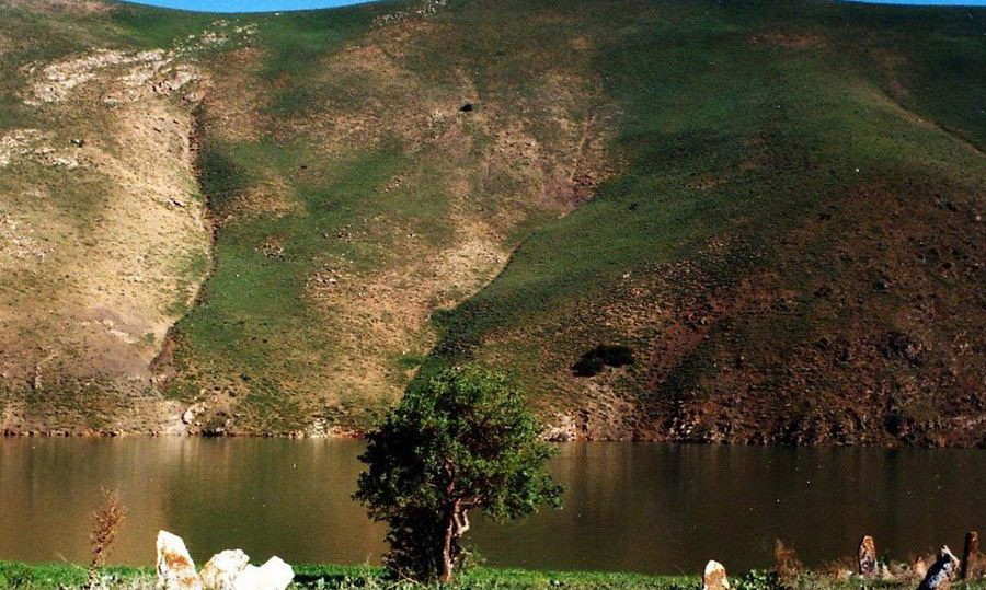 دریاچه سد مهاباد
