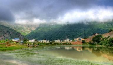 روستای سیاه بیشه مازندران