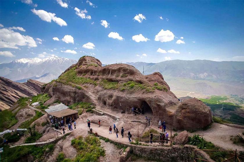 قلعه الموت قزوین