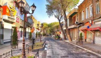 خیابان تربیت تبریز