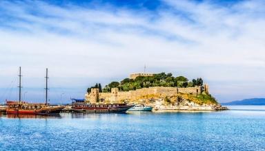 بهترین زمان برای سفر به کوش آداسی ؛ جزیره پرنده در ترکیه