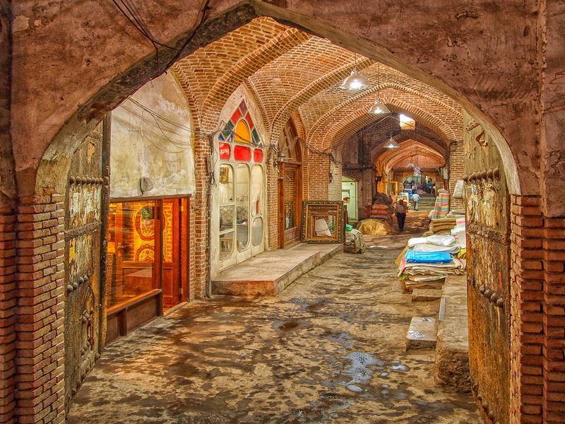 بازار خان یزد ، بازاری از دوره قاجار