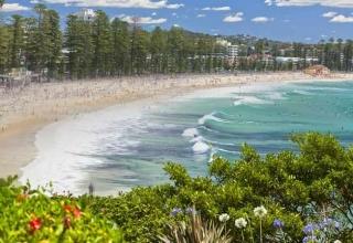ساحل مانلی سیدنی استرالیا
