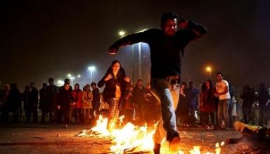 چهارشنبه سوری در ایران