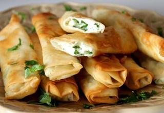 طرز تهیه بورک پنیر ترکیه