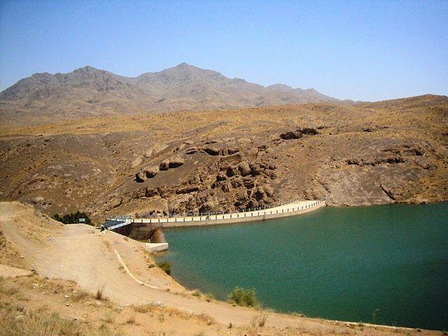 دریاچه سد سنجگان قم