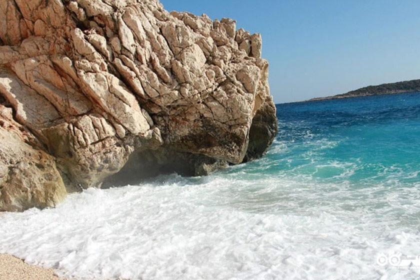 ساحل کاپوتاش ترکیه