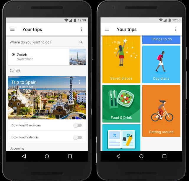 معرفی اپلیکیشن گوگل تریپس | Google Trips